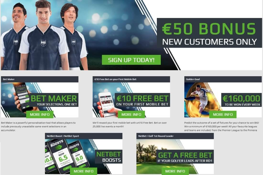 Are there any promotional offers at NetBet?