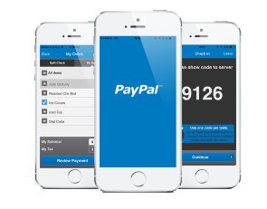 PayPal's mobile app gives you the opportunity to make immediate deposits